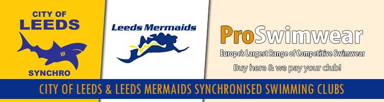 City of Leeds and Leeds Mermaids Synchronized Swimming Clubs