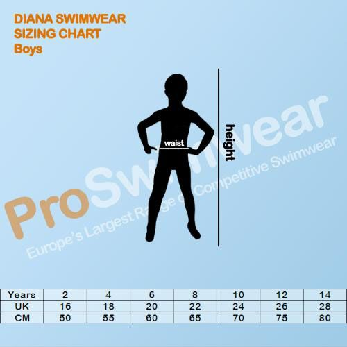 Diana Boy's Size Guide