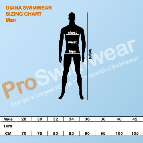 Diana Men's Size Guide