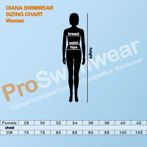 Diana Women's Size Guide