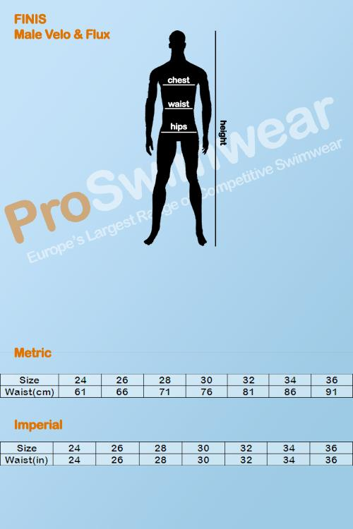 Finis Agility Paddles Size Guide