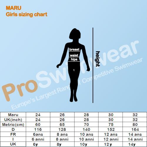 Maru Girl's Size Guide