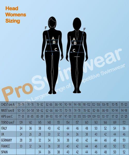 Head Size Women's Guide