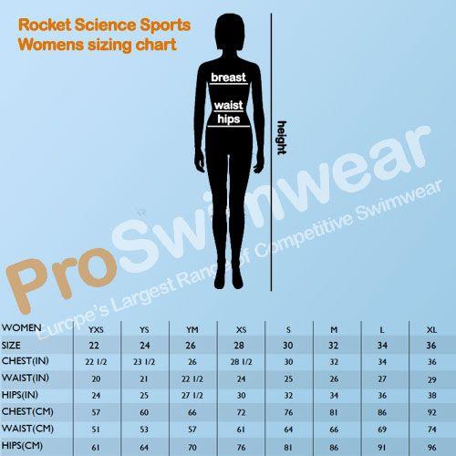 Rocket Science Women's Size Guide