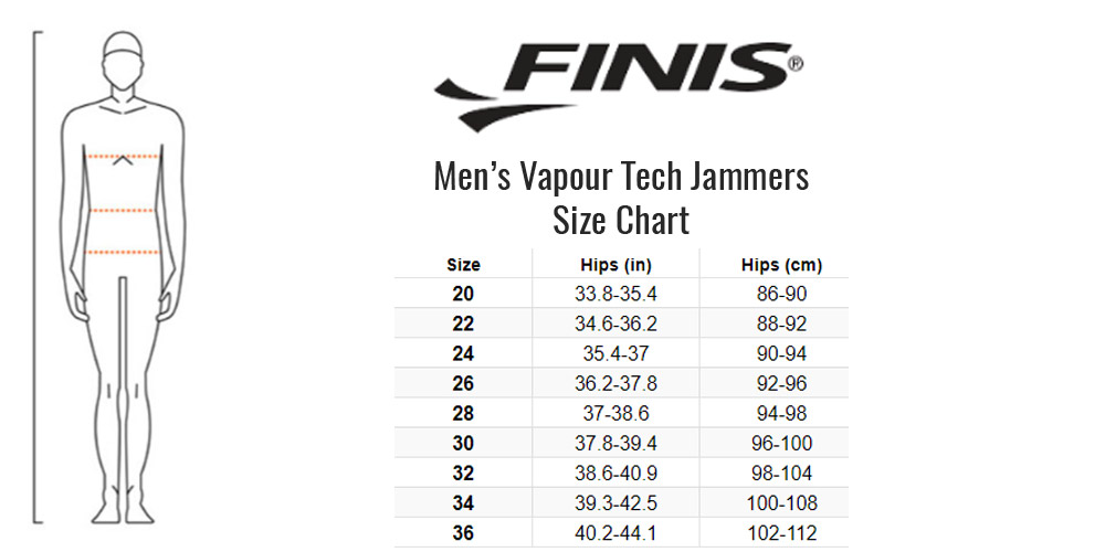 30 Black FINIS Fuse Jammer Technical Racing Suit