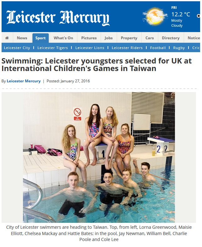 City of Leicester Swimming Club