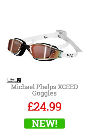 Michael Phelps Yellow Xceed Goggles