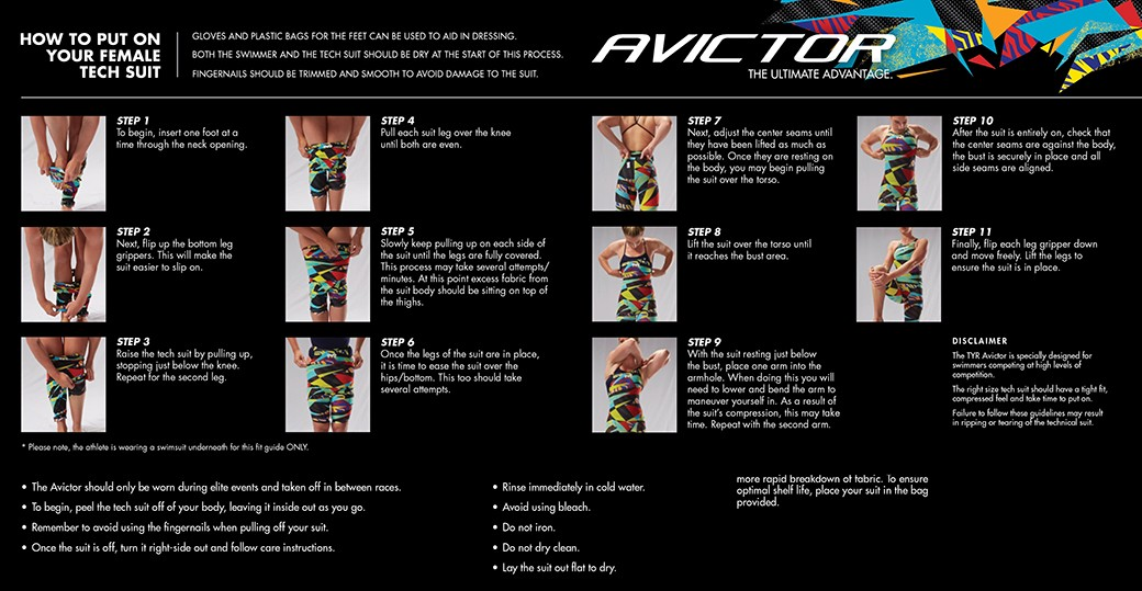 TYR Avictor Kneesuit Fitting Guide
