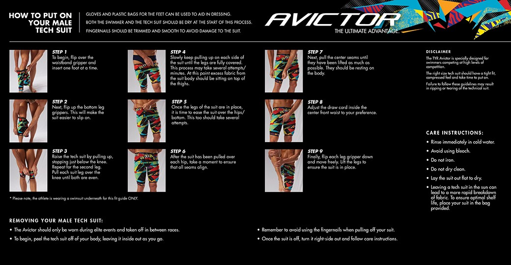 TYR Avictor Fitting Guide Male