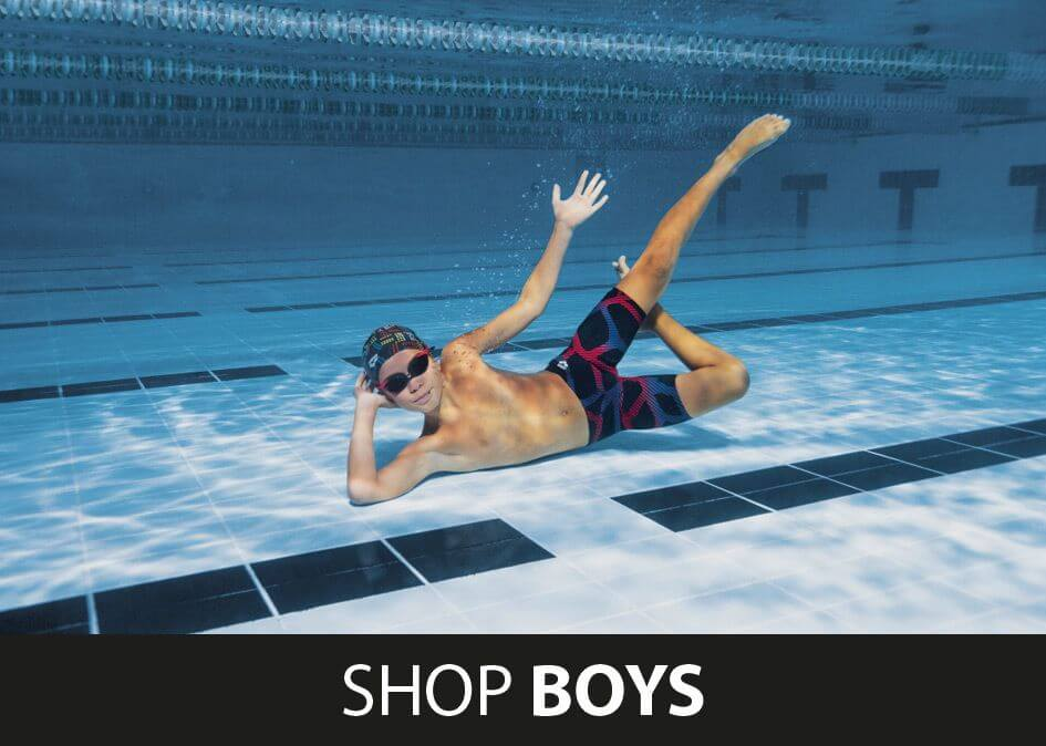 Shop Boys Arena Swimwear