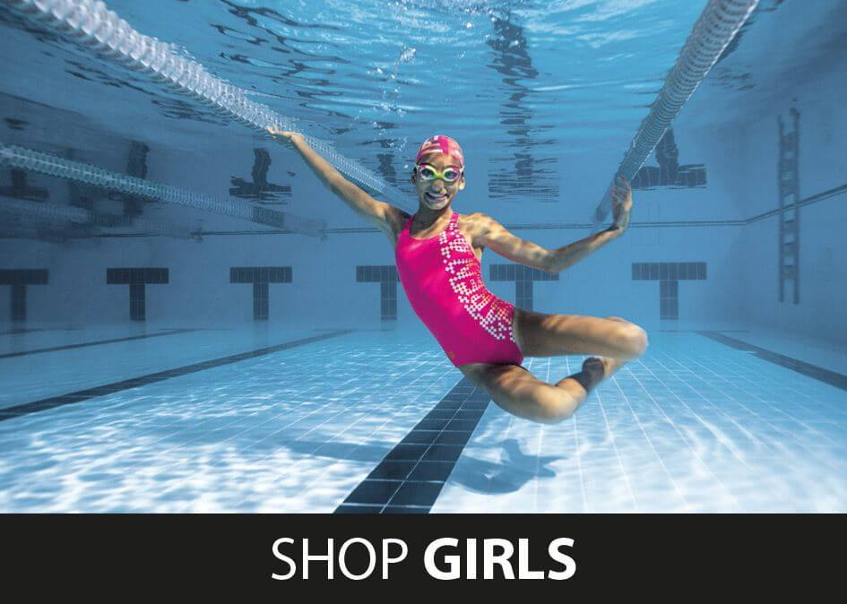 Shop Girls Arena Swimwear