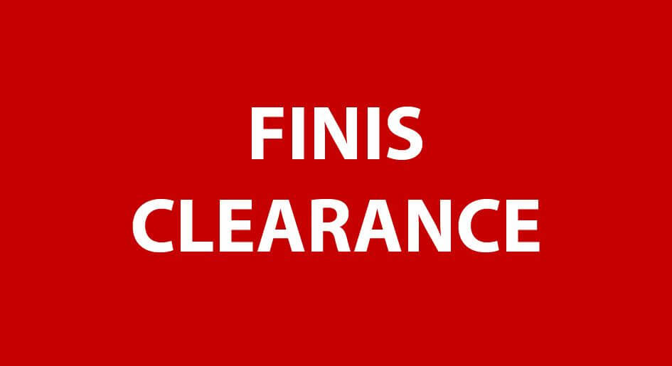 FINIS Shop Clearance