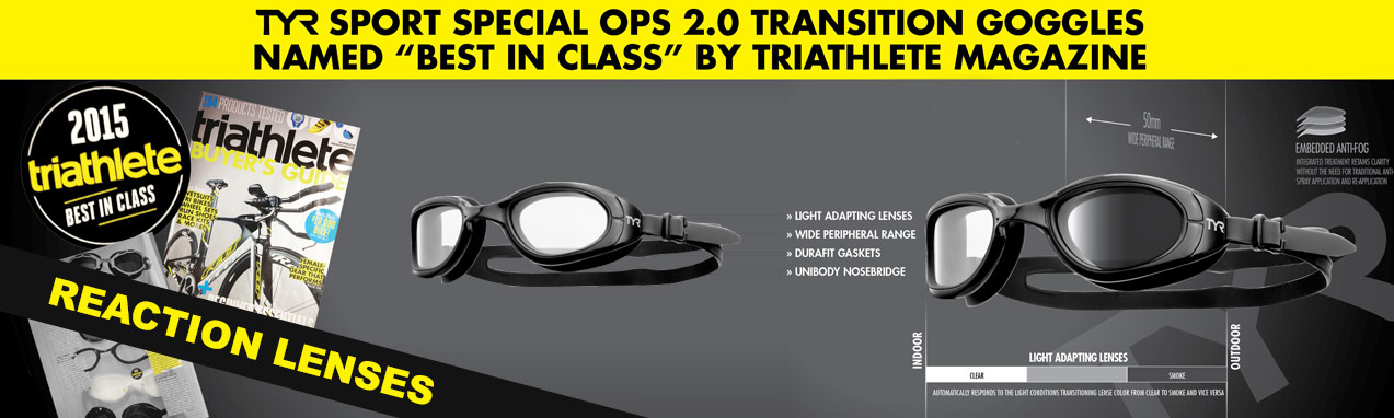 TYR transition goggles
